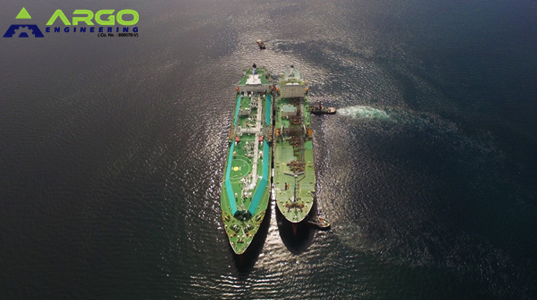 Apr 2019 LNG STS Operation at Brunei Bay