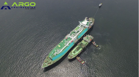 Jun 2018 LNG STS Operation at Brunei Bay