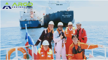 Oct 2019 LNG STS Operation at Brunei Bay