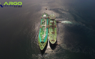 April 2019 LNG STS Operation at Brunei Bay
