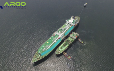 June 2018 LNG STS Operation at Brunei Bay